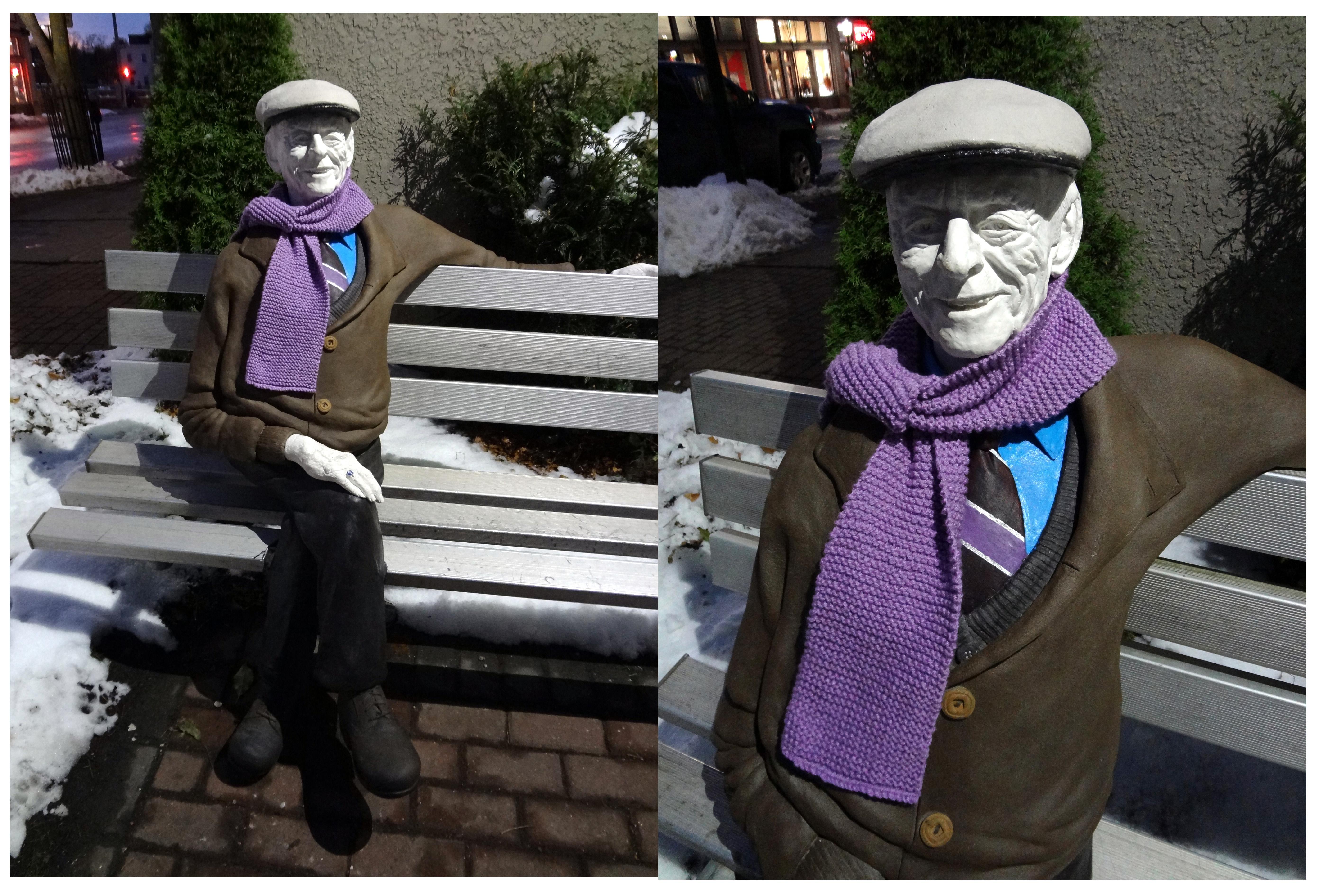 Phil w scarf